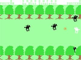 In game image of Shadowfax on the Commodore 64.