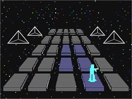 In game image of Silicon Warrior on the Commodore 64.
