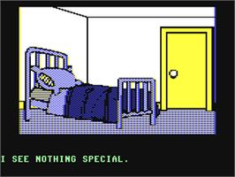 In game image of The Institute on the Commodore 64.