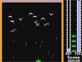 In game image of Threshold on the Commodore 64.