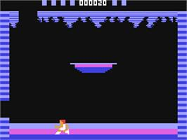 In game image of Tomarc the Barbarian on the Commodore 64.