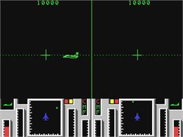 In game image of Top Gun on the Commodore 64.