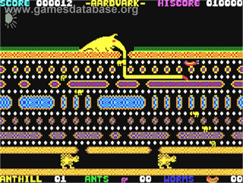 Aardvark Commodore 64 Aardvark - Commodore 6...