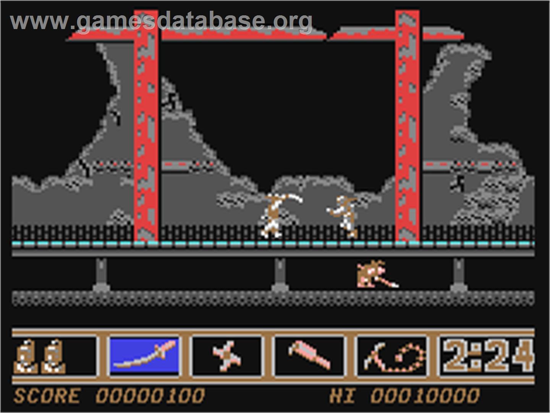 Ninja Spirit - Commodore 64