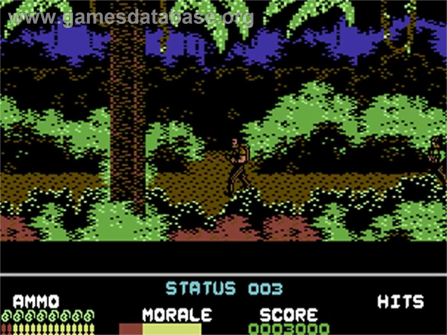 Platoon - Commodore 64 - Artwork - In Game
