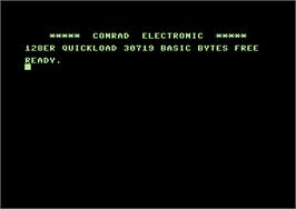 Title screen of Sesame Street Crayon: Letters For You on the Commodore 64.