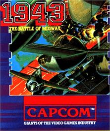 Box cover for 1943: The Battle of Midway on the Commodore Amiga.