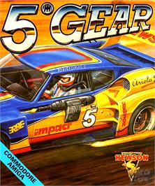 Box cover for 5th Gear on the Commodore Amiga.