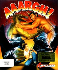 Box cover for Aaargh on the Commodore Amiga.