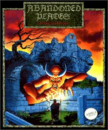 Box cover for Abandoned Places: A Time for Heroes on the Commodore Amiga.
