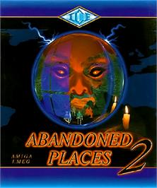 Box cover for Abandoned Places 2 on the Commodore Amiga.