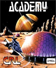 Box cover for Academy: Tau Ceti 2 on the Commodore Amiga.