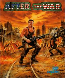 Box cover for After the War on the Commodore Amiga.