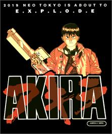Box cover for Akira on the Commodore Amiga.