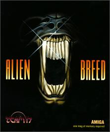Box cover for Alien Breed: Tower Assault on the Commodore Amiga.