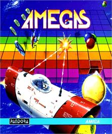 Box cover for Amegas on the Commodore Amiga.