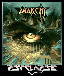 Box cover for Anarchy on the Commodore Amiga.