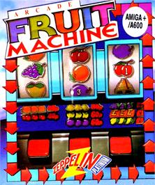 Box cover for Arcade Fruit Machine on the Commodore Amiga.