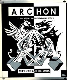 Box cover for Archon: The Light and the Dark on the Commodore Amiga.