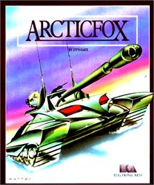 Box cover for Arcticfox on the Commodore Amiga.