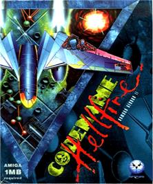 Box cover for Armour-Geddon 2: Codename Hellfire on the Commodore Amiga.
