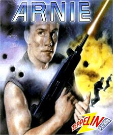 Box cover for Arnie on the Commodore Amiga.