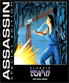 Box cover for Assassin Special Edition on the Commodore Amiga.