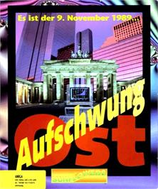 Box cover for Aufschwung Ost on the Commodore Amiga.