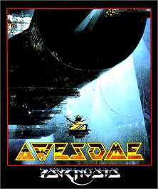 Box cover for Awesome on the Commodore Amiga.