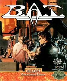 Box cover for BAT on the Commodore Amiga.