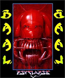 Box cover for Baal on the Commodore Amiga.