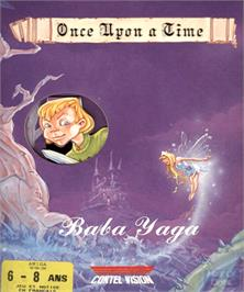 Box cover for Baba Yaga on the Commodore Amiga.