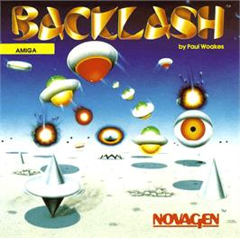 Box cover for Backlash on the Commodore Amiga.