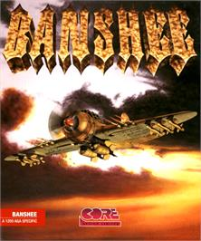 Box cover for Banshee on the Commodore Amiga.