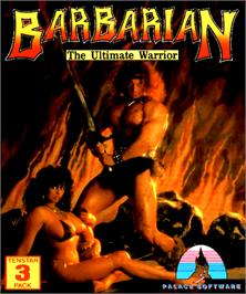 Box cover for Barbarian: The Ultimate Warrior on the Commodore Amiga.
