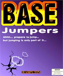 Box cover for Base Jumpers on the Commodore Amiga.