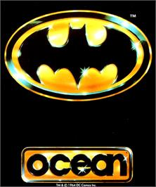 Box cover for Batman: The Movie on the Commodore Amiga.