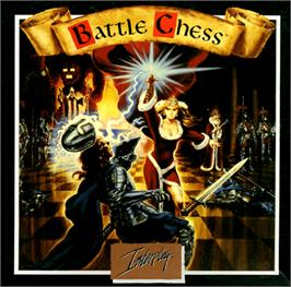 Box cover for Battle Chess on the Commodore Amiga.