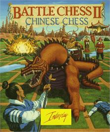 Box cover for Battle Chess 2: Chinese Chess on the Commodore Amiga.