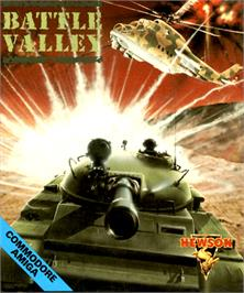 Box cover for Battle Valley on the Commodore Amiga.