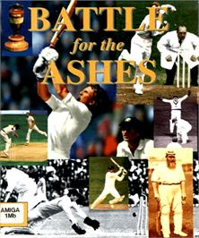 Box cover for Battle for the Ashes on the Commodore Amiga.