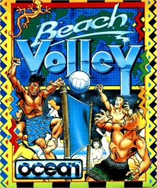 Box cover for Beach Volley on the Commodore Amiga.