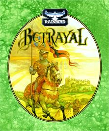 Box cover for Betrayal on the Commodore Amiga.