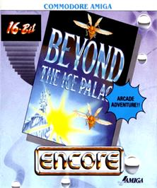 Box cover for Beyond the Ice Palace on the Commodore Amiga.