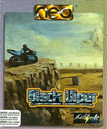 Box cover for Black Viper on the Commodore Amiga.