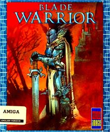 Box cover for Blade Warrior on the Commodore Amiga.