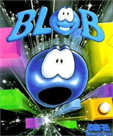 Box cover for Blob on the Commodore Amiga.