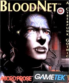 Box cover for BloodNet on the Commodore Amiga.