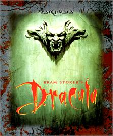 Box cover for Bram Stoker's Dracula on the Commodore Amiga.
