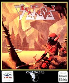 Box cover for Brataccas on the Commodore Amiga.